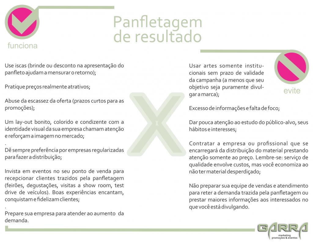 infográfico blog garra panfletagem da resultado florianopolis biguacu palhoca santa catarina sc